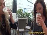 slippery massage horny lesbians fingering pussy deep