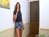 brunette schoolgirl teen olivia wilder hardcore fucking teacher