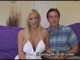shyla stylez nerdy husband watches her bang