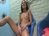 Beautiful Girl at The Gloryhole