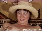 Retro Teen Cowgirl Has Sex, 1970s