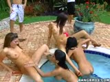 wet and wild XXX pool party