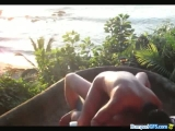 Balcony Holiday Sex In Hawai
