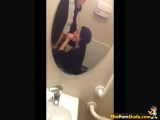 Public Toilet Blowjob On A Wedding Party